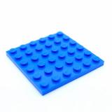 3958 4199519 Bauplatte 6 x 6 - blau