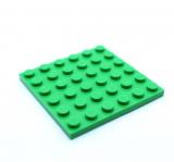 3958 6004650 Bauplatte 6 x 6 - mittelgrün