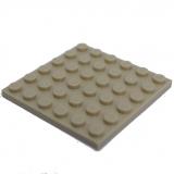 3958 4125217  Bauplatte 6 x 6 - beige