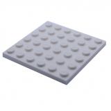 3958 4144012 Bauplatte 6 x 6 - weiß