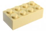 3001 4114319 Baustein 2 x 4 - beige