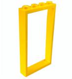 60596 4561507 Tür- Fensterrahmen 1 x 4 x 6 - gelb