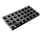 3035 303526 Bauplatte 4 x 8 - schwarz