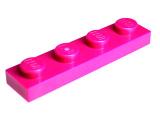 3710 6037652 Platte 1 x 4 - magenta