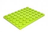 3036 6100914 Bauplatte 6 x 8 - hellgrün