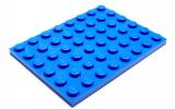 3036 303623 Bauplatte 6 x 8 - blau