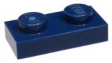3023 4528981 Bauplatte 1 x 2 - dunkelblau