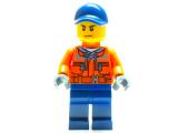 Minifigur - City - Bauarbeiter - cty0641 - Set 60106