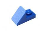 15672 92946 6069163 Schrägstein 1 x 2 45° - blau
