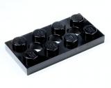 3709 370926 Platte 2 x 4 - schwarz