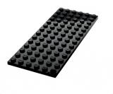 3456 345626 Bauplatte 6 x 14 - schwarz