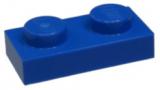 3023 302323 Bauplatte 1 x 2 - blau