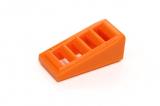 61409  6035764 Schrägstein 18° 2 x 1 x 2/3 - orange