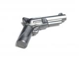13562 6034689 Pistole - mattsilber
