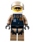Minifigur - City - Pilotin Polizistin - cty0832