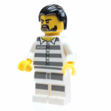 Minifigur - City - Strafgefangener - cty0871