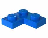 2420 242023 Bauplatte 2 x 2 Eckplatte - blau