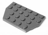 32059 4521572 Bauplatte Flügelplatte 4 x 6 - dunkelgrau