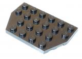 32059 4129572 Bauplatte Flügelplatte 4 x 6 - schwarz