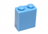 3245 4621902 Baustein 1 x 2 x 2 - medium blau
