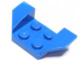 41854 6176528 Kotflügel Radkasten 2 x 4 - blau