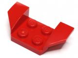 41854 6109466 Kotflügel Radkasten 2 x 4 - rot