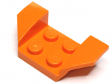 41854 4162874  Kotflügel Radkasten 2 x 4 - orange