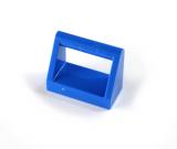 2432 243223 Fliese 1 x 2 mit Halter - blau