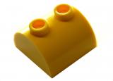 30165 4187061 Baustein gerundet 2 x 2 - gelb