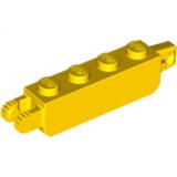 30387 4218728 Scharnierstein 1 x 4 - gelb