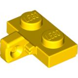 44567 4185617 Scharnierplatte 1 x 2 - gelb