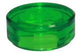98138 4646860 Platte 1 x 1 rund - transparent grün