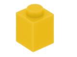 3005 300524 Baustein 1 x 1 - gelb