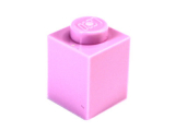 3005  4286050 Baustein 1 x 1 - rosa