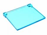 35318 6253735 Glas für Rahmen 1 x 4 x 2 - transparent hellblau