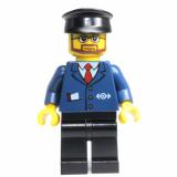 Minifigur - City - Bahnangestellter - 7937