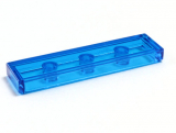 35371 6252050 Fliese 1 x 4 - transparent blau