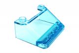 57783 35279 6247360 4498374 Windschutz  4 x 3 x 1 1/3 - transparent hellblau