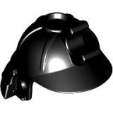 98128 6022242 Samurai Helm mit Halter - schwarz
