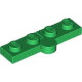 19954 6102767  Scharnierplatte 1 x 2 - 1 x 2 - grün