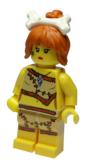 8805-02 Minifigur - Serie 5 - Steinzeitfrau