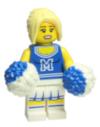 8683-01 - Minifigur - Serie 1 - Cheerleaderin
