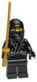 8683-06 - Minifigur - Serie 1 - Ninja