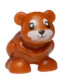 24604 6133569 Hamster - dunkelorange