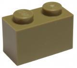 3004 4521914 Baustein 1 x 2 - dunkelbeige