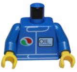 88585 6035330 Oberkörper - blau - Octan - Oil