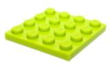3031 4504850 Bauplatte 4 x 4 - hellgrün