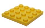 3031 4243817 Bauplatte 4 x 4 - gelb