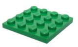3031 4243821 Bauplatte 4 x 4 - grün