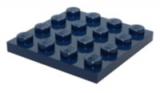 3031 6027625 Bauplatte 4 x 4 - dunkelblau